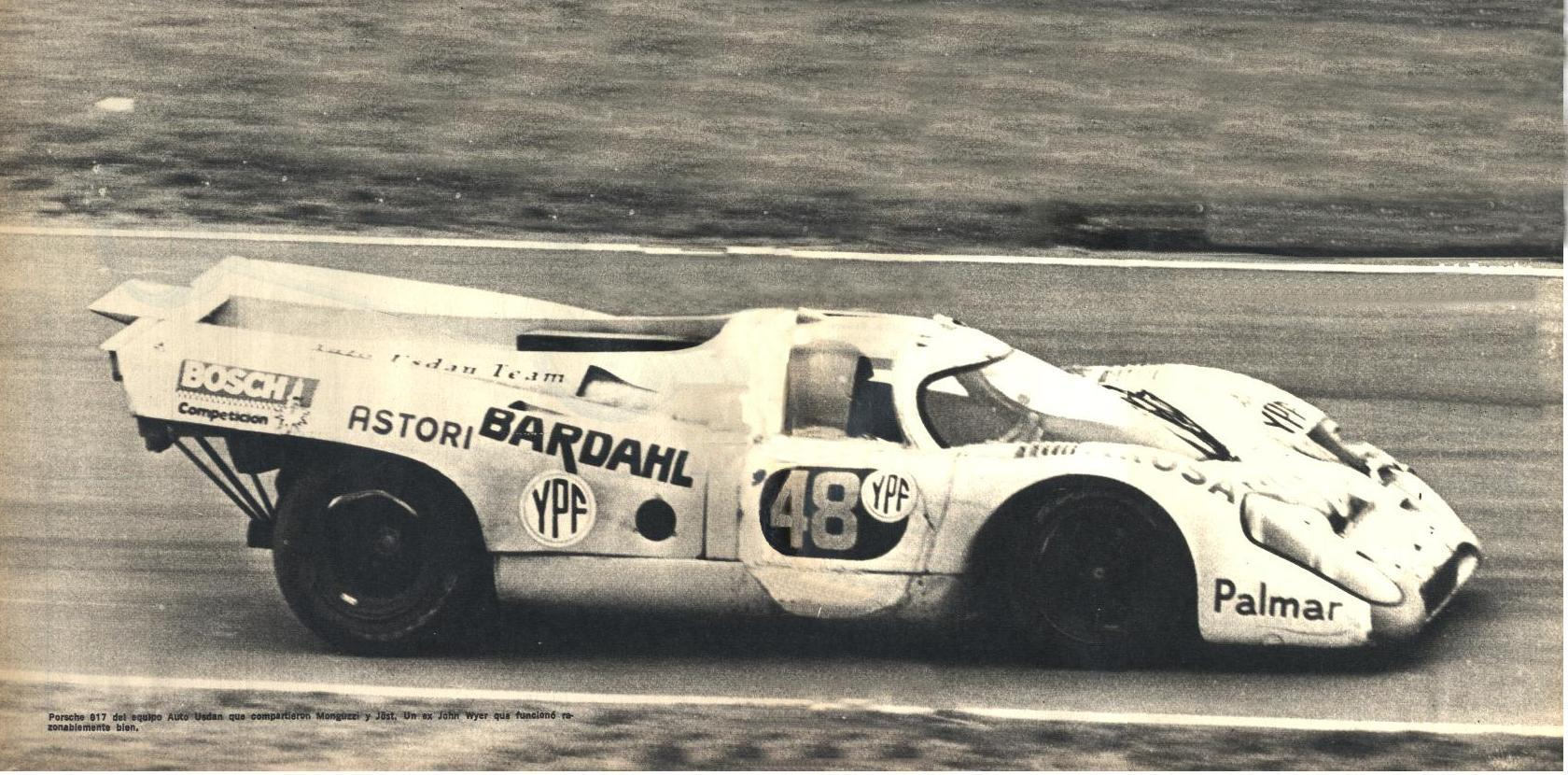 El 917 del Auto Usdau con el