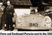Ferry y Ferdinand Porsche