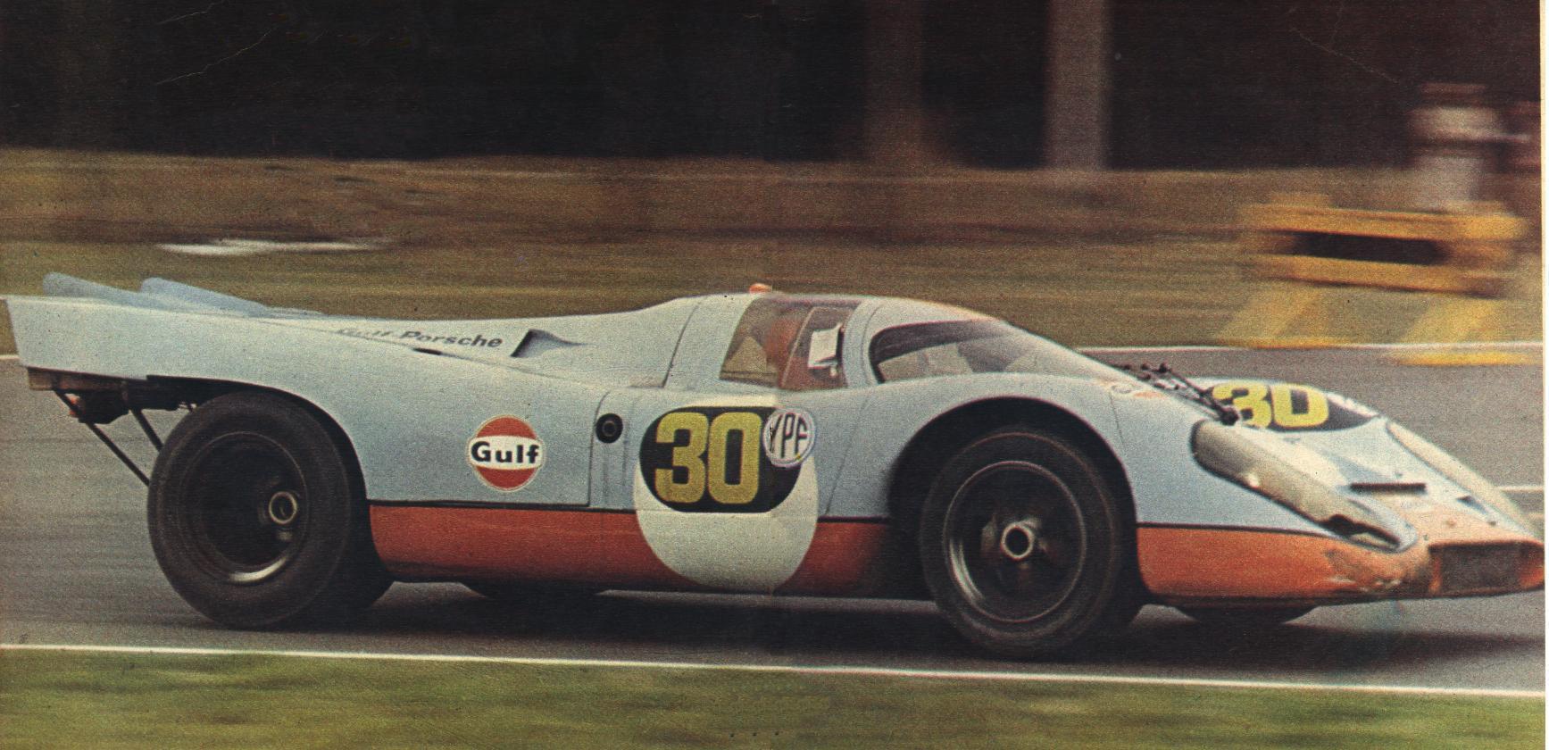 Porsche 917 - History
