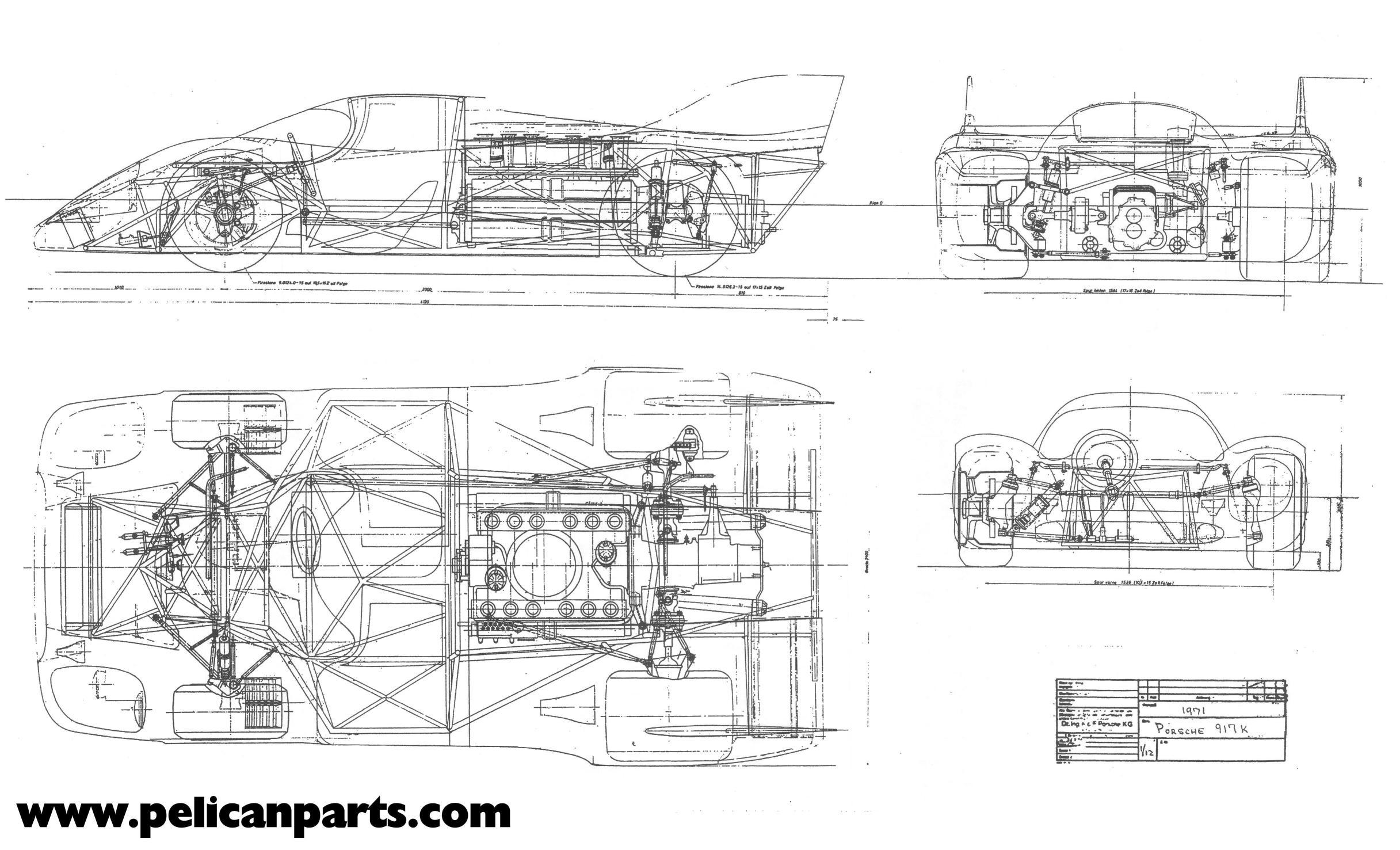 Porsche 917 Los Planos