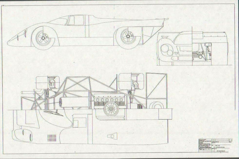 porsche chassis blueprint  u2013 craigecollinsart com