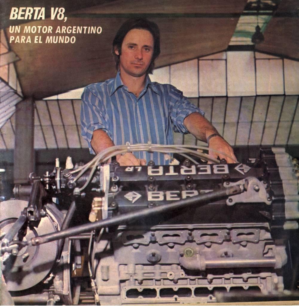 Un motor argentino para la F1, el Berta V8. (parte 1)