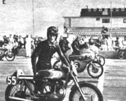 Daytona '61: Dahler y la Ducatti 175 cc. en primera fila